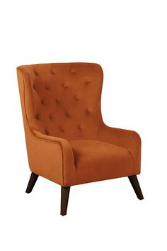 Dorchester Lounge Armchair Burnt Orange – my furniture Wings Design, My Furniture, Home Living Room, Solid Oak, Burnt Orange, My Room, Armchair, Lounge, Modern Living