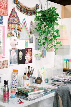 Miranda Skoczek — Artist, Apartment & Studio, Elwood, Melbourne.