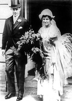"""  Joseph Kennedy on the day of his marriage to Rose Fitzgerald, 1914. america-runs-on-kennedy:"""
