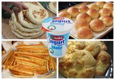 Hrnčekové placky z jogurtu Potrebujeme: 8,5 hrnčeka hl. múky 1100 g 2 hrnčeky teplej vody 400 ml 2 hrnčeky riedkeho jogurtu 400 ml (môžete nahradiť aj kyslým mliekom) 1 lyžička soli 1 balenie čerstvého droždia 42 gramov alebo 1 balenie sušeného instantného droždia 10 gramov Postup: Do preosiatej múky rozmelíme dorždie. Pridáme jogurt, vlažnú vodu,... Muffin, Dairy, Food And Drink, Pizza, Cheese, Funguje To, Ale, Breakfast, Hampers