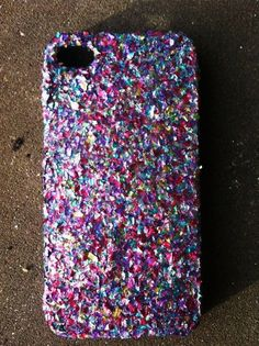 Mixed Glitter iPhone 4 4s Hard Cover Case by kaylafenton on Etsy, $10.00
