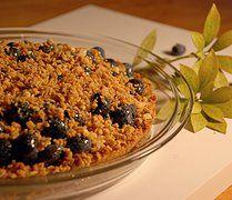 Blueberry Crumble recipe at our website: goldengirlgranola.com