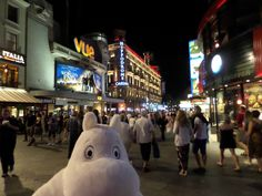 My first night out ...in style, Leicester Square!