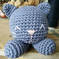 How's everyone's Meowday?  #crochet #cat #neko #handmade #rattle #貓 by sew_i_craft