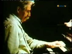 Albert Schweitzer: organ/orgel Günsbach (fragment from movie/ original f...