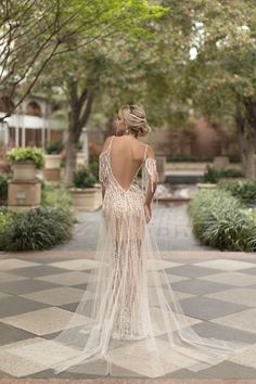 Sensual wedding dress #weddingdress