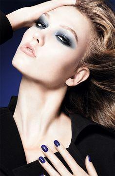 White, Black, Silver makeup
