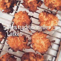"""Les galettes de pommes de terre ou """"Latkes"""""""