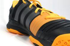 on sale 8db26 cc173 Die neuen Adidas adipower Stabil 11 Handballschuhe für die Saison 2014 15  in schwarz