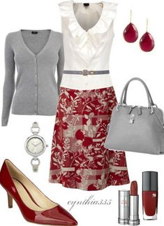 Work Outfit by cynthia335 on Polyvore