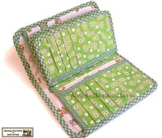 Wallet sewing pattern with 27 pockets PDF Files image 3 Sew Wallet, Fabric Wallet, Wallet Sewing Pattern, Sewing Patterns, Sewing Basics, Sewing For Beginners, Sewing Courses, Wallet Tutorial, Tutorial Diy