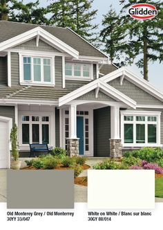 Refreshing your home can be stress-free and budget-friendly! Can't decide on a paint colour? Glidden has a wide variety of premium choices without the premium price. Exterior Paint, Interior And Exterior, Garage Floor Finishes, Concrete Garages, Furniture Scratches, Paint Supplies, Paint Cans, Room Paint, Stress Free