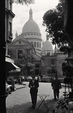 Sacré-Cœur, Montmartre 1957 • By Inge Morath