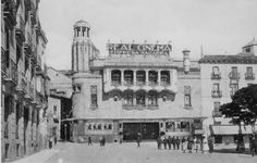 Real Cinema, en la Plaza de Isabel II, sobre 1920.