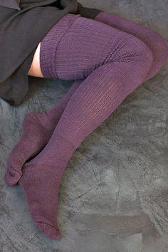 Long Cuffable Scrunchable Socks - So need these right now. Thigh High Socks, Thigh Highs, Non Slip Socks, Nylons, Lise Charmel, Blue Socks, Colorful Socks, Sexy Stockings, Tight Leggings