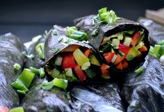 Vegan Food Lover is your resource for finding vegan recipes, cooking videos, FAQs, products, and more. Nori Wrap, Gourmet Recipes, Vegan Recipes, How To Become Vegan, Finding Vegan, Summer Rolls, Vegan Appetizers, Plant Based Eating