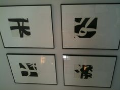 Kids can paint with black on white paper and then cut out square and frame - Opposites Theme