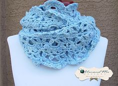 Avery Infinity Scarf/Cowl Pattern by Theresa Grant $4.99