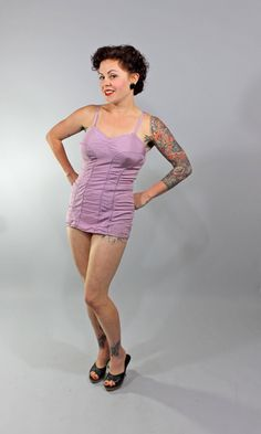1950s Vintage SwimsuitCOME WHAT MAY Summer by stutterinmama, $104.00