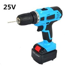 25V power Tools Multifunction Lithium Battery Torque Mobile Power Supply Electric Drill bit cordless Screwdriver hand wrench