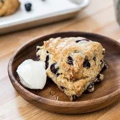 Pastry Affair | Blueberry Honey Scones