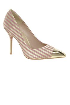 ASOS candy-striped heels