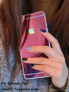 9h Tempered Glass 0.2mm 9h 2.5d Colorful Tempered Glass Screen Protectors Mirror Front And Back Full Body Film For Apple Iphone 5s/6/6plus Premium Tempered Glass Screen Protector From Mayiandjay, $1.84