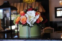 Sugar Magnolia: The Floral Hat Box Arrangment