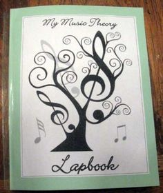 Free Music Theory Lapbook