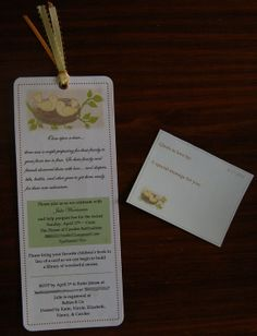 Book Themed Baby Shower Invitation by ljabara on Etsy, $1.75