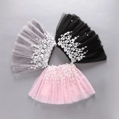 2017 Tulle Girls Skirts Tutu Ball Gown Pettiskirt Lace Summer Pear Party Princess Baby Skirt For Kids Fluffy Skirt Clothing Baby Girl Skirts, Baby Skirt, Little Girl Dresses, Baby Dress, Fashion Kids, Kids Dress Patterns, Toddler Skirt, Party Frocks, Skirts For Kids