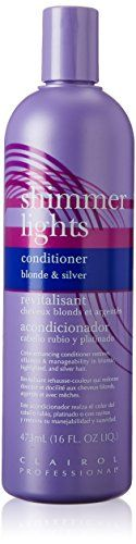 Clairol Shimmer Lights Shampoo for Blonde and Silver Hair, Fl Oz Grey Hair Tones, Neutral Blonde, Shimmer Lights Shampoo, Dying Your Hair, Purple Shampoo, Light Blonde, Hair Shampoo, Dream Hair, Short Hairstyles