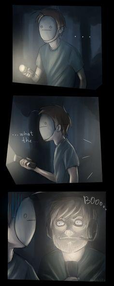 BOOooo by ~Noobito777 on deviantART (PewDiePie & Cry)