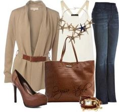 """""""Business Casual"""" by orysa on Polyvore by Kimberly Ronketty"""