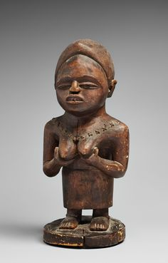 Bid Live on Lot 57 in the African and Oceanic Art (Lempertz Brussels) Auction from Kunsthaus Lempertz. Ancient Goddesses, Gods And Goddesses, African Sculptures, Art Premier, African Artists, Orisha, Ocean Art, Tribal Art, Republic Of The Congo