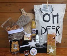 Ontbijtpakket in een originele Paperbag verpakking/ Kerstpakketten 2015 www.prezend.nl
