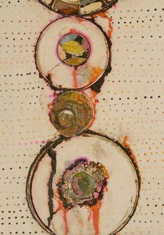 Contemporary Painting -Rickie Wolfe), Artist Study , circles , Art Featuring Circles, Inspiration for CAPI Students at milliande.com , circles, kreis, symbology , metaphor, emotion, idea, art