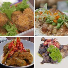 Kamu yang sering bingung setiap kali mau masak ayam, cobain nih kreasi olahan daging ayam yang pastinya enak banget! Chicken Menu, Chicken Recipes, Snack Recipes, Cooking Recipes, Korean Street Food, Asian Recipes, Ethnic Recipes, Western Food, Malaysian Food