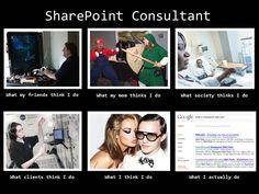 Haha, my job, in a nutshell! :)