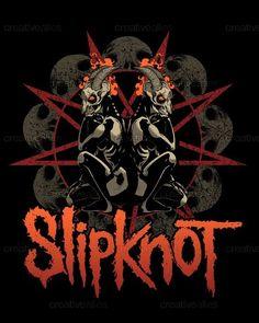 Slipknot Merchandise Graphic by Chad Heinrich Art on CreativeAllies.com