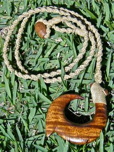 Koa Fish Hook Necklace    Hand carved by OneMountainCreations, $75.00