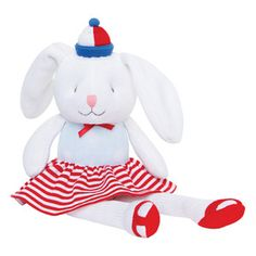 Give an adorable knit baby toy as a baby gift at your next baby shower from Elegant Baby! This cotton, knit toy is great for baby to snuggle and squeeze! Rabbit Toys, Bunny Rabbit, Baby Toys, Baby Knitting, Baby Gifts, Nautical, Hello Kitty, Kids Shop, Baby Shower