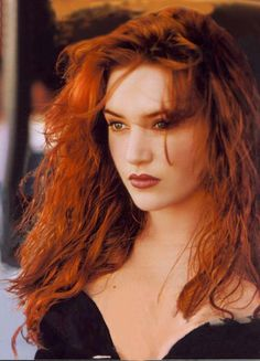 Kate Winslet-looking stunning in this pic with her long red hair :)