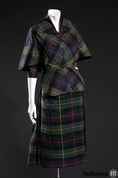 1950 Suit by Madame Grès via The Museum at FIT.