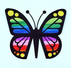 Butterfly Suncatchers   AllFreeKidsCrafts.com