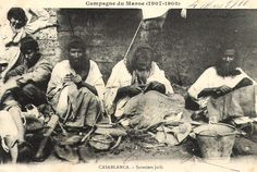 Maroc - Casablanca - savetiers juifs