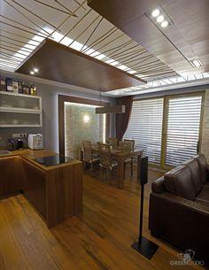 Interiér bytu na Bosákovej ulici - kuchyňa