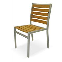 Mediterranean Stacking Side Chair. Outdoor RestaurantRestaurant ChairsSilver  ...