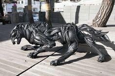 Stunning Animal Sculptures Made
