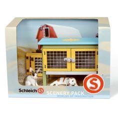 Schleich Rabbit Scenery Pack